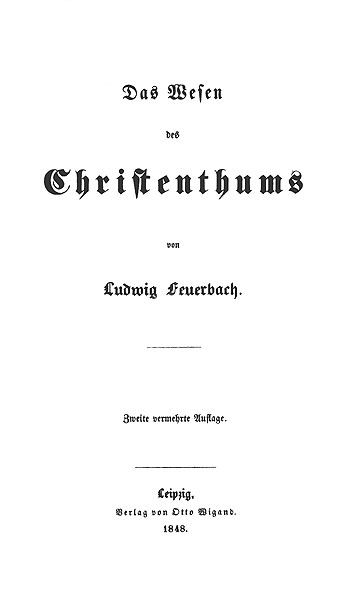 book feuerbach german great ideology in including philosophy thesis