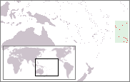 Location of Cook Islands