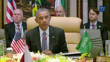 File:President Obama and King Salman Deliver Statements to the Press.webm