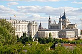 Royal Palace and Almudena Cathedral