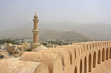 Nizwa Fort and Minaret of Friday Mosque