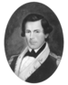 black & white portrait of Samuel Nicholas
