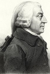 Picture of Adam Smith facing to the right