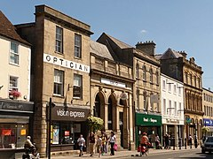 Warminster- some town-centre shops (geograph 2025490).jpg