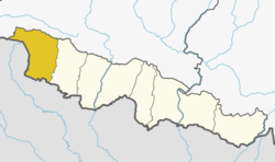Parsa District locator.png