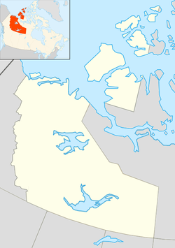 Yellowknife is located in Northwest Territories