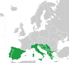 Southern Europe map green.png