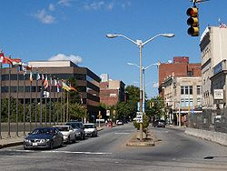 Downtown Fall River in 2007