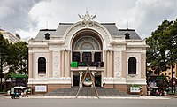 The Municipal Theatre in Ho Chi Minh City