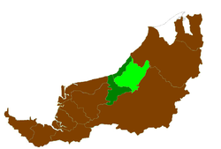 Location of Sebauh