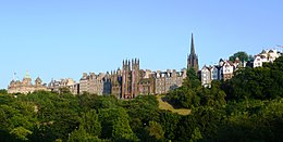 Old Town from Princes Street.JPG