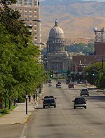 Idaho State Capitol building in Boise
