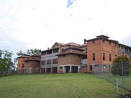 Woogaroo Lunatic Asylum, south face (abandoned) - panoramio.jpg