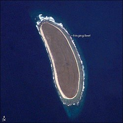 Howland Island seen from space