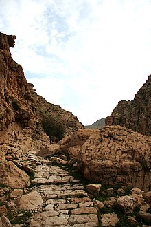 Ancient Sassanid Era Pathway in Behbahan, Persia