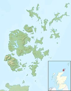 Eday is located in Orkney Islands