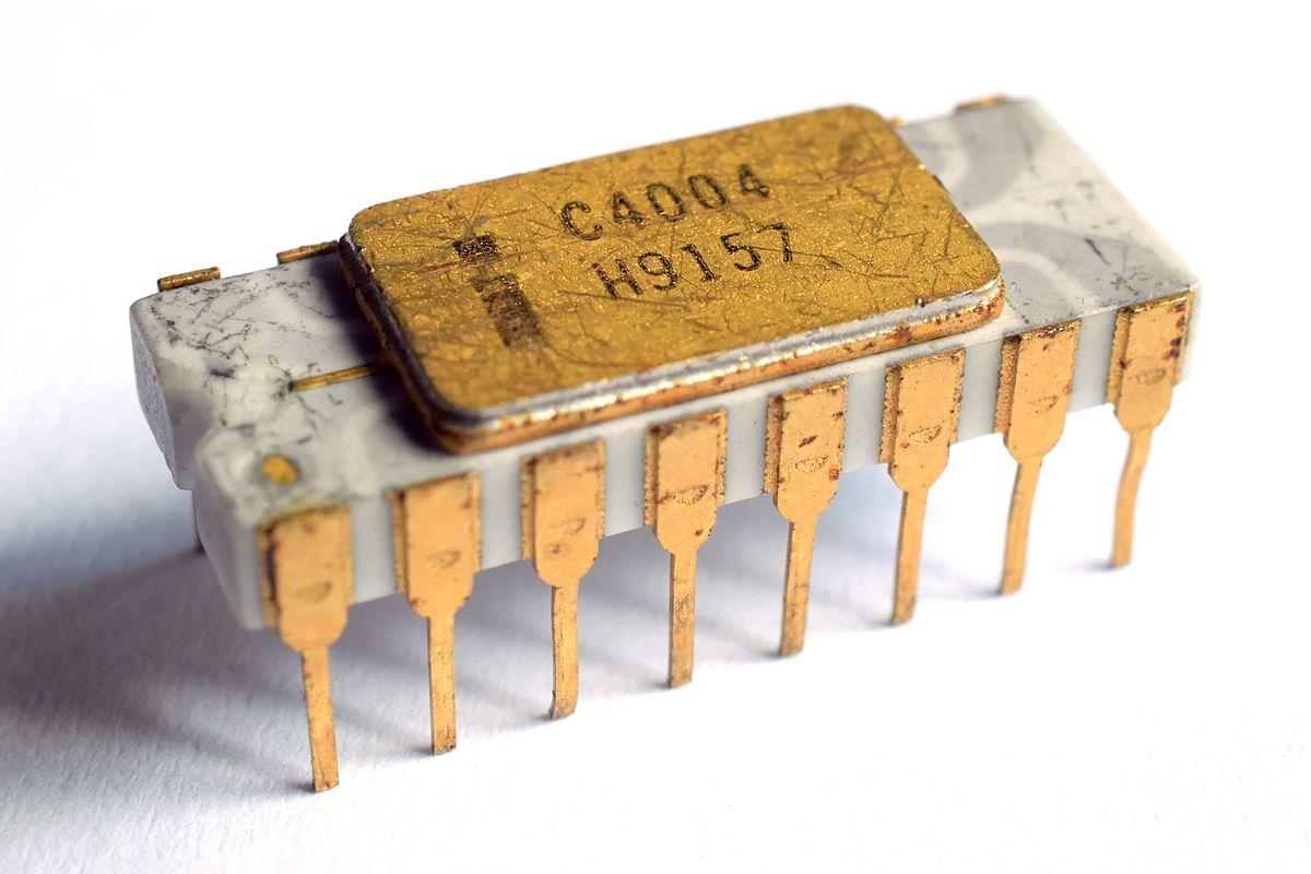 Intel 4004 - Turkcewiki org
