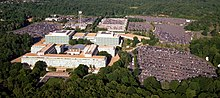 Aerial view of the Central Intelligence Agency headquarters, Langley, Virginia - Corrected and Cropped.jpg