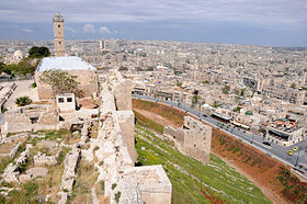 Ancient Aleppo from Citadel.jpg