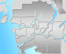 CYHC is located in Vancouver