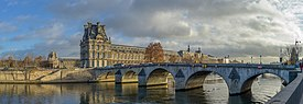 Seine Pont Royal Louvre Paris.jpg