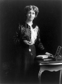 1900s Women/'s Suffrage C Pankhurst in Court F Pankhurst Drummond /& E Photo