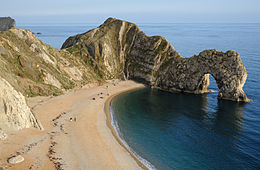 photograph of Durdle Door arch near Lulworth