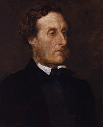 George Frederic Watts: Anthony Ashley-Cooper, 7th Earl of Shaftesbury