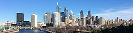 Philadelphia skyline from South Street Bridge January 2020 (rotate 2 degrees perspective correction crop 4-1).jpg