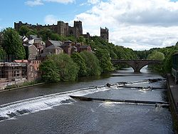 Durham Cathedral and Castle above the River Wear