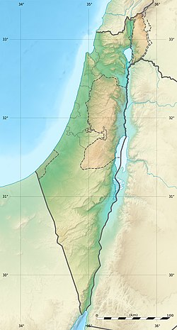 Location in Israel