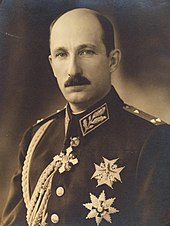 A portrait of Tsar Boris III