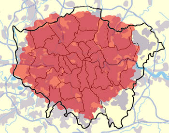 020 is located in Greater London