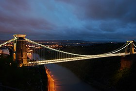 Clifton Suspension Bridge Late Evening.jpg