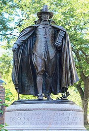 The Puritan by Augustus Saint-Gaudens - Springfield, Massachusetts - DSC02513.JPG