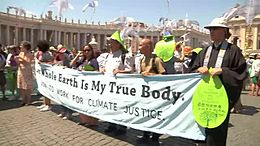 File:One Earth one family - Interfaith march in Rome to call for climate action.webm