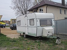 Photograph of a travel trailer or camper