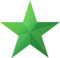 Green star icon