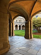Southern colonnade Old Quad University of Melbourne 2018