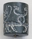 Ancient Mesopotamian cylinder seal