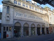 Port of London Authority building on Charterhouse Street 1.jpg
