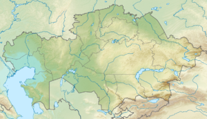 Central Asia is located in Kazakhstan