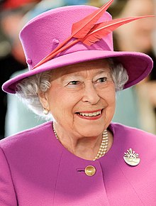 Photograph of Queen Elizabeth II