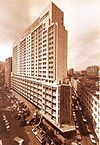 HK Causeway Bay Bay Lee garden Hotel Yun Ping Road n Hysan Avenue history photo BW.jpg
