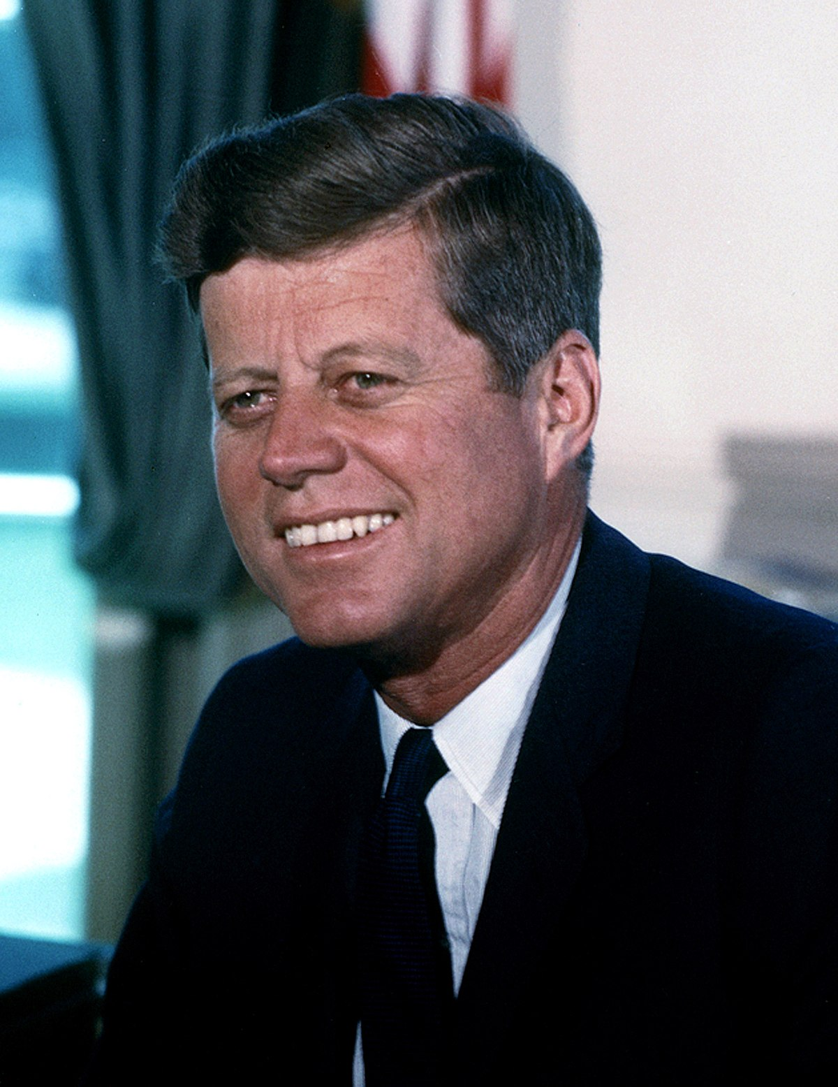 the life history of john fitzgerald kennedy the 35th president of the united states