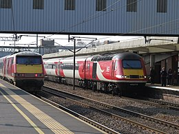 Class 91 and hst at peterborough.jpg