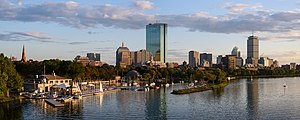 Back Bay and the Charles River