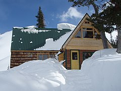 Fairy Meadow Hut from North.JPG