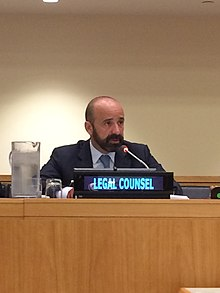 Miguel de Serpa Soares, the current head of the Office of Legal Affairs of the United Nations