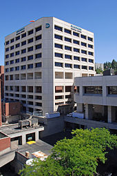 "Deaconess Medical Center in Spokane's ""Medical District"" on the lower South Hill"